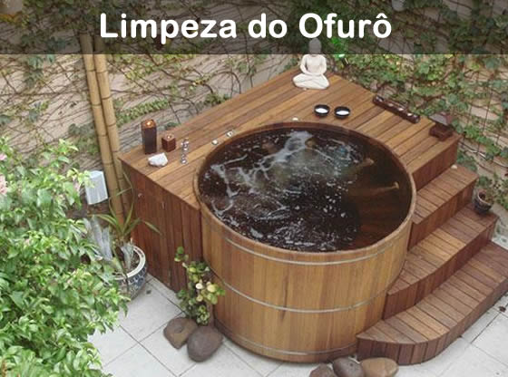 limpeza do ofuro